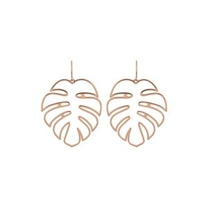 Urban Outfitters Jewelry - Gold Leaf Earrings